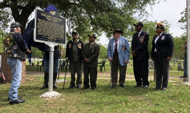 Oaklawn Cemetery historic marker unveiled