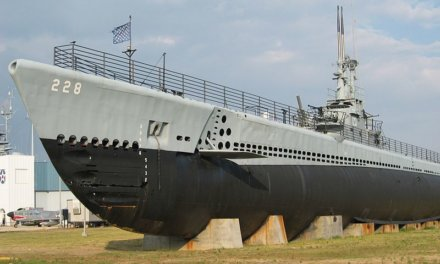 MFRD: Submarine on fire at Battleship Park