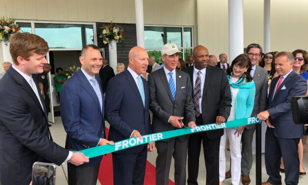 Officials cut ribbon on Mobile Downtown Airport, discuss expansion