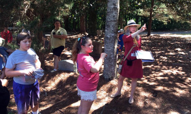 Fairhope students take tour of historic Colony Cemetery