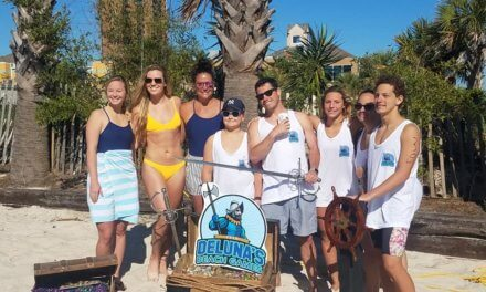 Gulf Shores Swim Team represents city at Deluna Beach Games