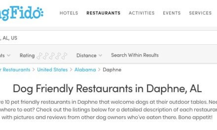 'Dog friendly' restaurants in Baldwin County? Think again …