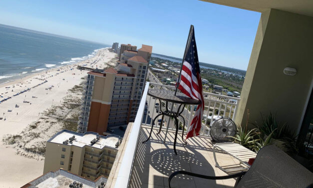 Gulf Shores woman fights condo association over American flag