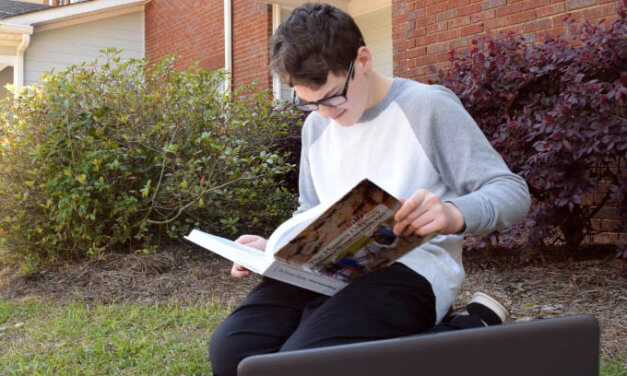 Local student reaches full potential through online schooling