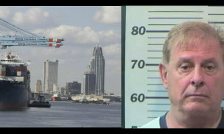 Local man arrested on Alabama port property