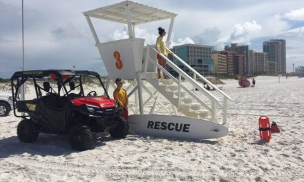 Baldwin lifeguards experience busy start to summer season