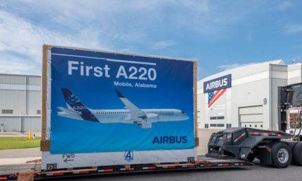 First A220 components arrive in Mobile