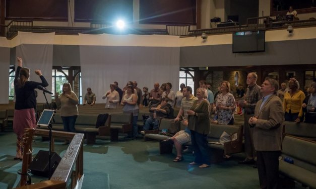 Monthly church service caters to disabled persons, families