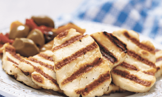 Get into cheese grilling with halloumi