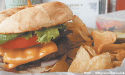 Callaghan's burger recognized by Alabama Magazine … again!