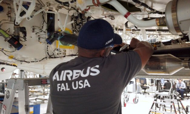 Airbus A220 production begins in Mobile