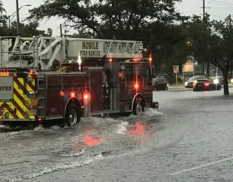 Fire, police respond to flash flooding