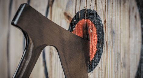Bad Axe Throwing introduces new pastime to Gulf Coast