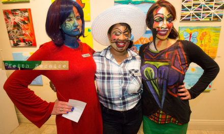 Dracula and Picasso paintings come to life at ArtWalk