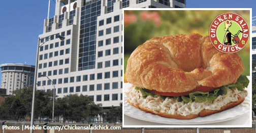 County approves $35,000 upgrades to accommodate Chicken Salad Chick