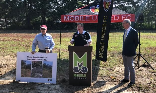Mobile United leases city land for practice fields