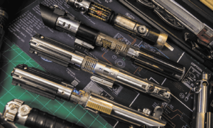 The Force is strong in West Mobile lightsaber workshop