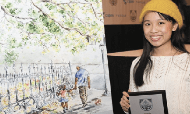 Local student's art to appear on cover of LendingTree Bowl program