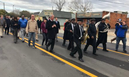 City officials hold ribbon cutting ceremonies following two street projects
