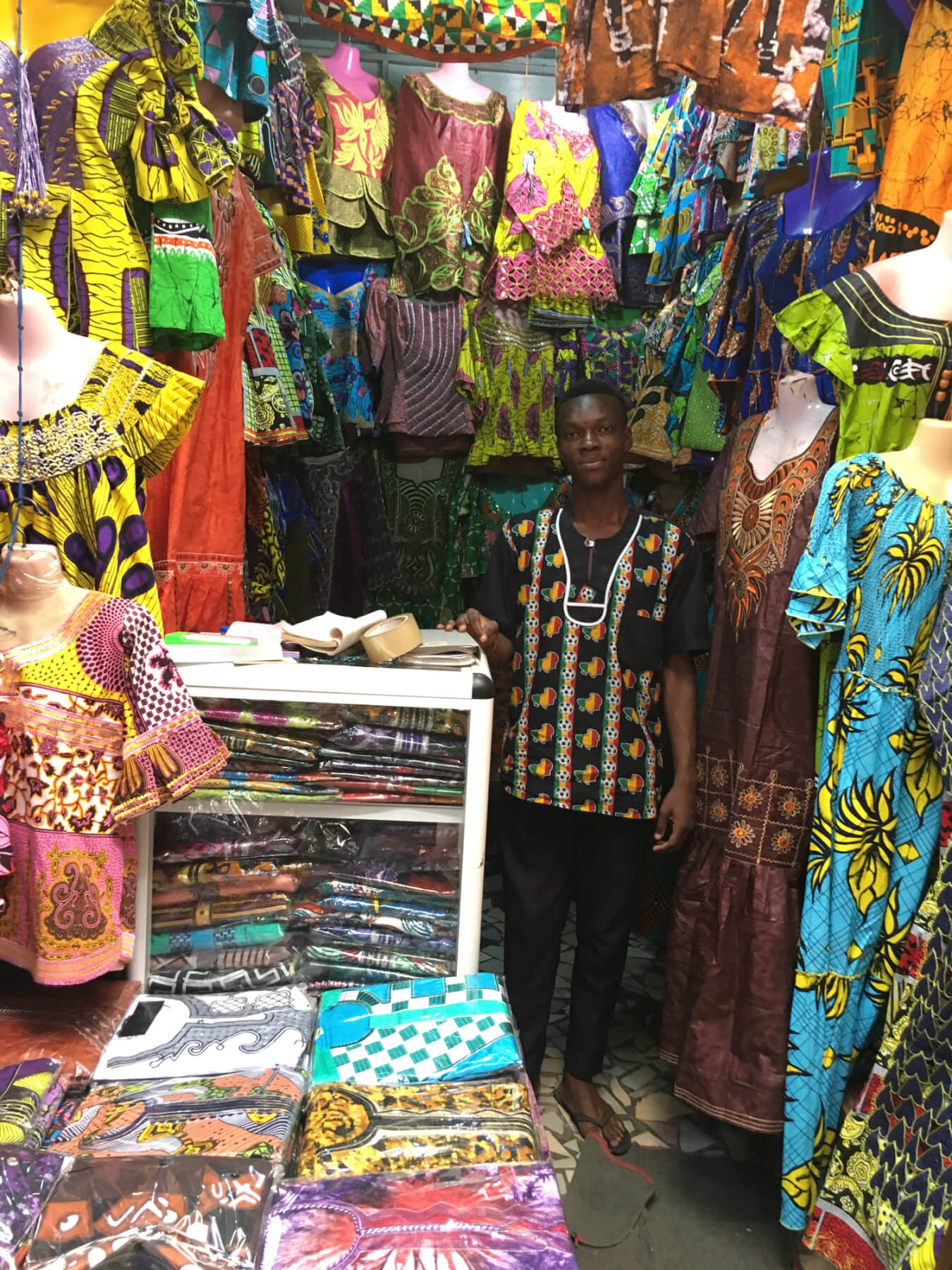 Shopkeeper in Cotonou