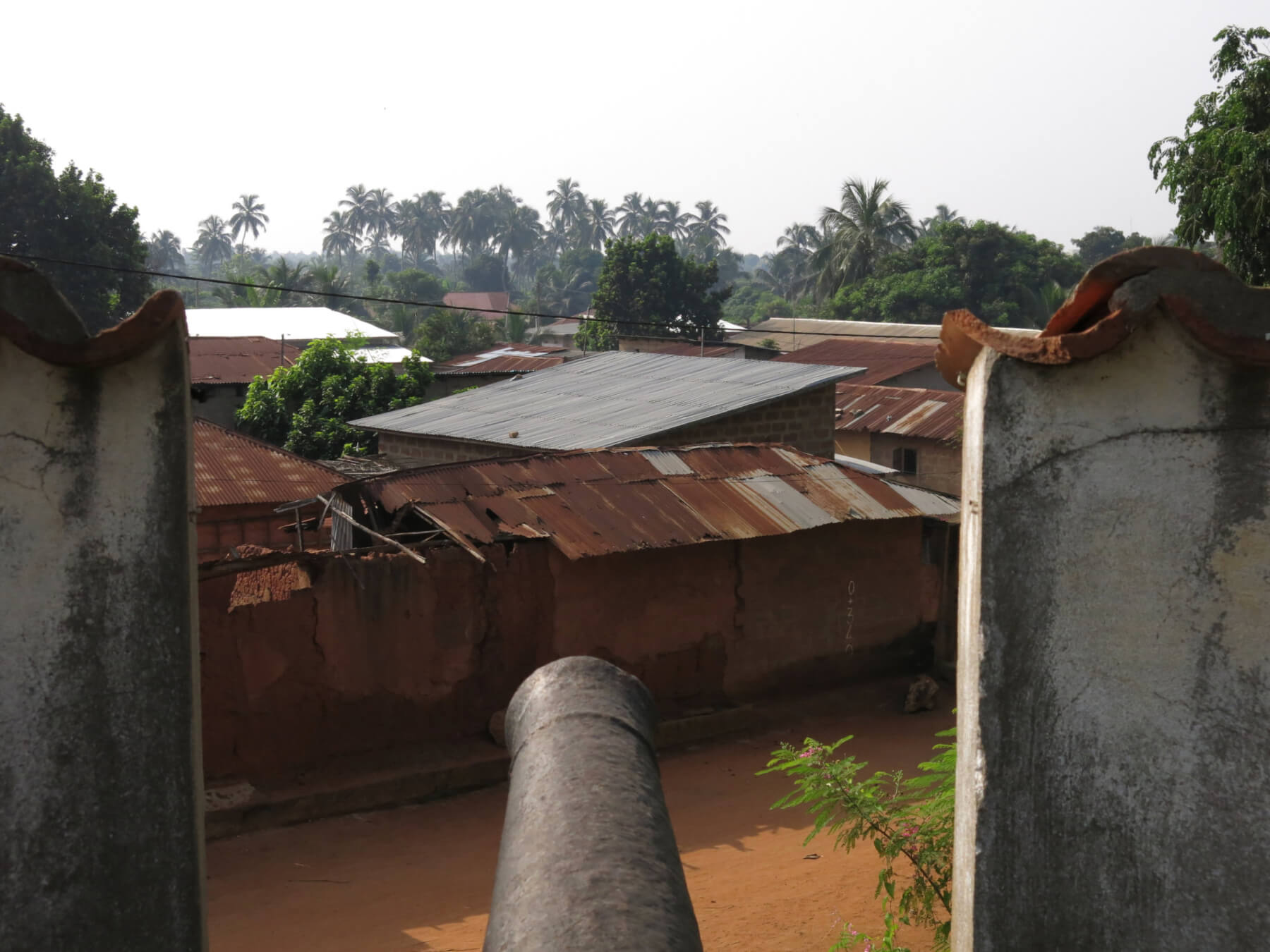 View from the Portuguese Fort in Ouidah