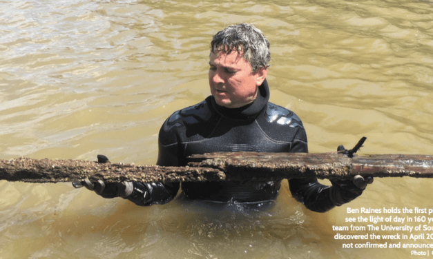 Sunken treasure:  A reporter's remarkable account of finding the last slave ship