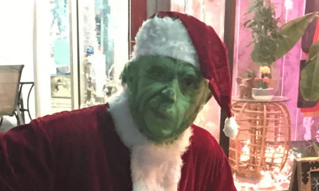 Grinch steals Christmas and hearts