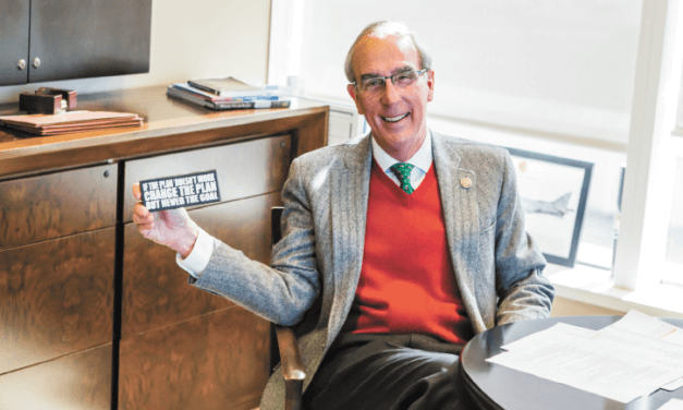 Stimpson goes into 2020 with same goal he campaigned on