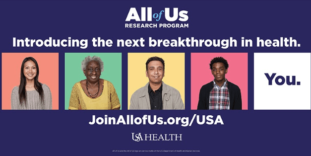 A research program to benefit 'All of Us'