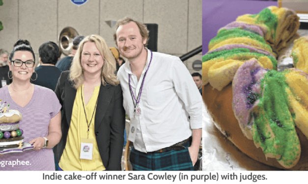 Home bakers compete for the crown of best king cake-maker in Mobile