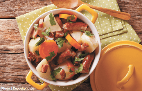 Post-parade comfort food: Dublin Coddle