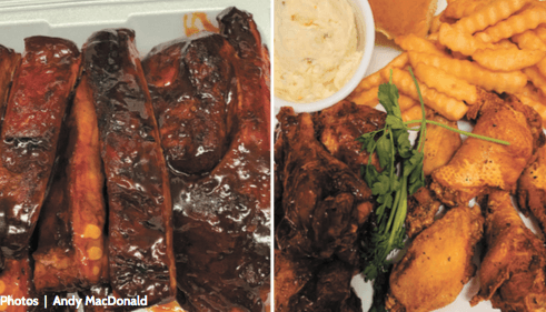 Finger-licking barbecue — for after you wash your hands, of course