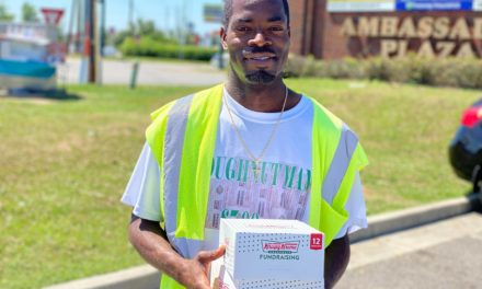 After stopping briefly, local Krispy Kreme salesman allowed to continue