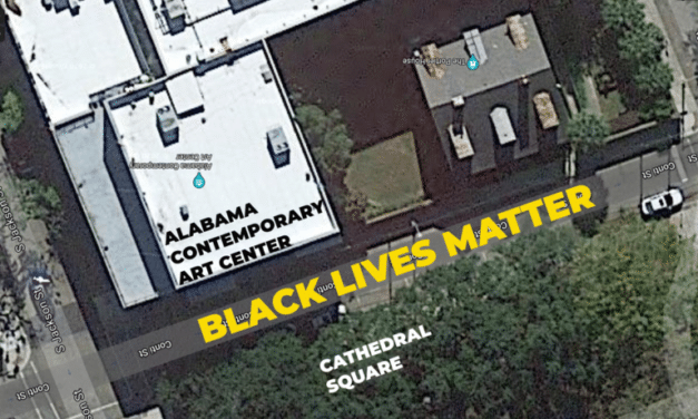 Chalk 'Black Lives Matter' mural coming to downtown