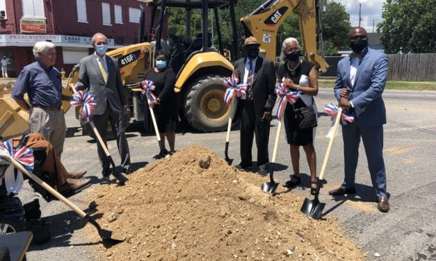 Officials break ground on Baltimore Street project