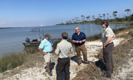 Secretary of the Interior visits Bon Secour NWR