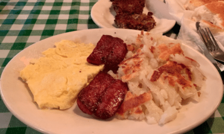 Don't sleep on Dick Russell's Sunday breakfast