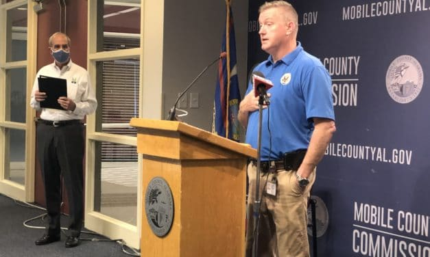 City, county officials share prepardness message ahead of Sally