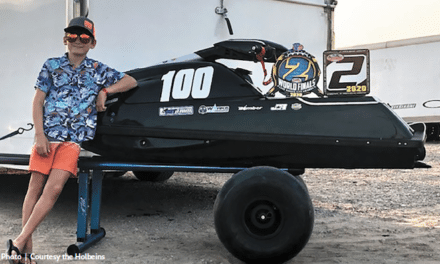 Fairhope youngster earns trophy at personal watercraft world finals