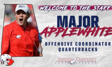 Applewhite named offensive coordinator at South Alabama