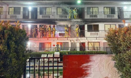 Fire partially burns hotel central to drug trafficking indictments