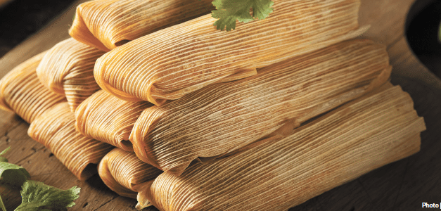Christmas tamales, from the Left Coast to the Gulf Coast