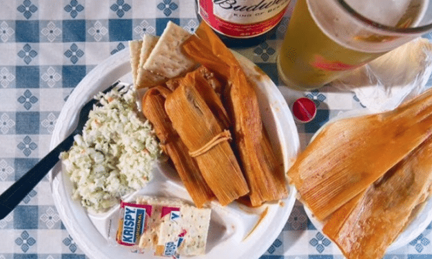 Come for the tamales, stay for the fried chicken