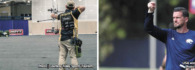 Archery event brings Sportsman Channel to Foley