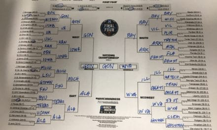 It's called March Madness for a reason; picking the bracket