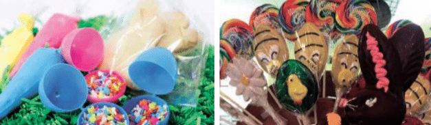 Wine and candy for your Easter basket