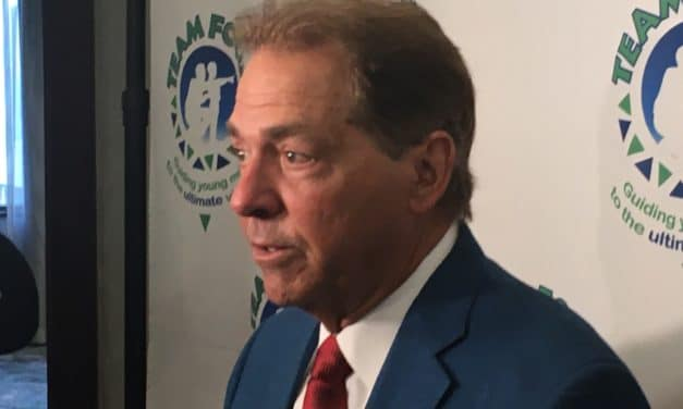 Saban offers humorous response to Fisher statement