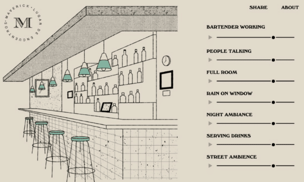 Online tool lets you recreate the ambiance of your favorite bar at home