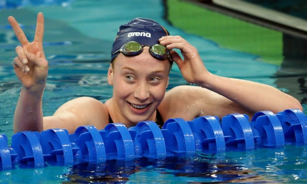 Madden places seventh in 400-meter free at Olympics; Titmus defeats Ledecky
