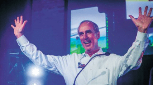 Stimpson wins re-election without runoff